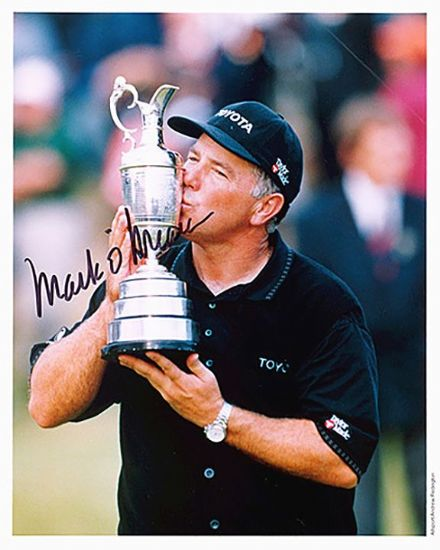 Mark O' Meara, Open Champion 1998, signed 10x8 inch photo.